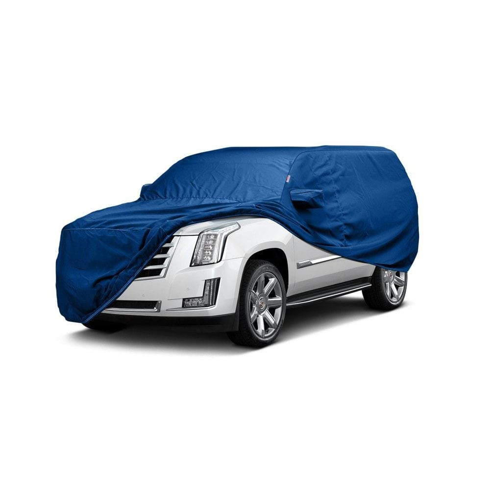Budge B-3 Blue Size 3: Fits 16'8″ Long Car Cover